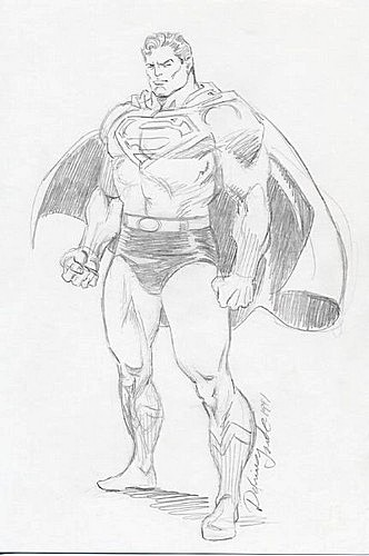 Superman - Sketch
